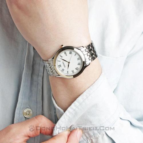5 Giây là sang ngay chỉ với đồng hồ Seiko TWO TONE sp1 SKK706P1-1
