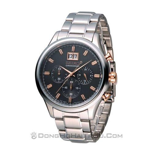 5 Giây là sang ngay chỉ với đồng hồ Seiko TWO TONE sp3 SPC151P1
