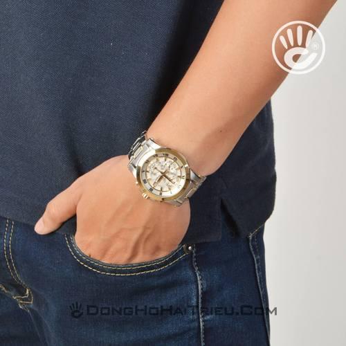 Chết mê nét tinh túy của đồng hồ nam đẹp Seiko sp5 SNAF32P1