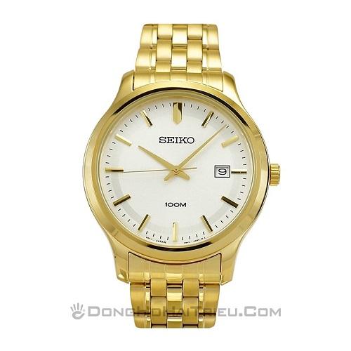 đồng hồ seiko mạ vàng quà tết số 1 cho bố mẹ 1